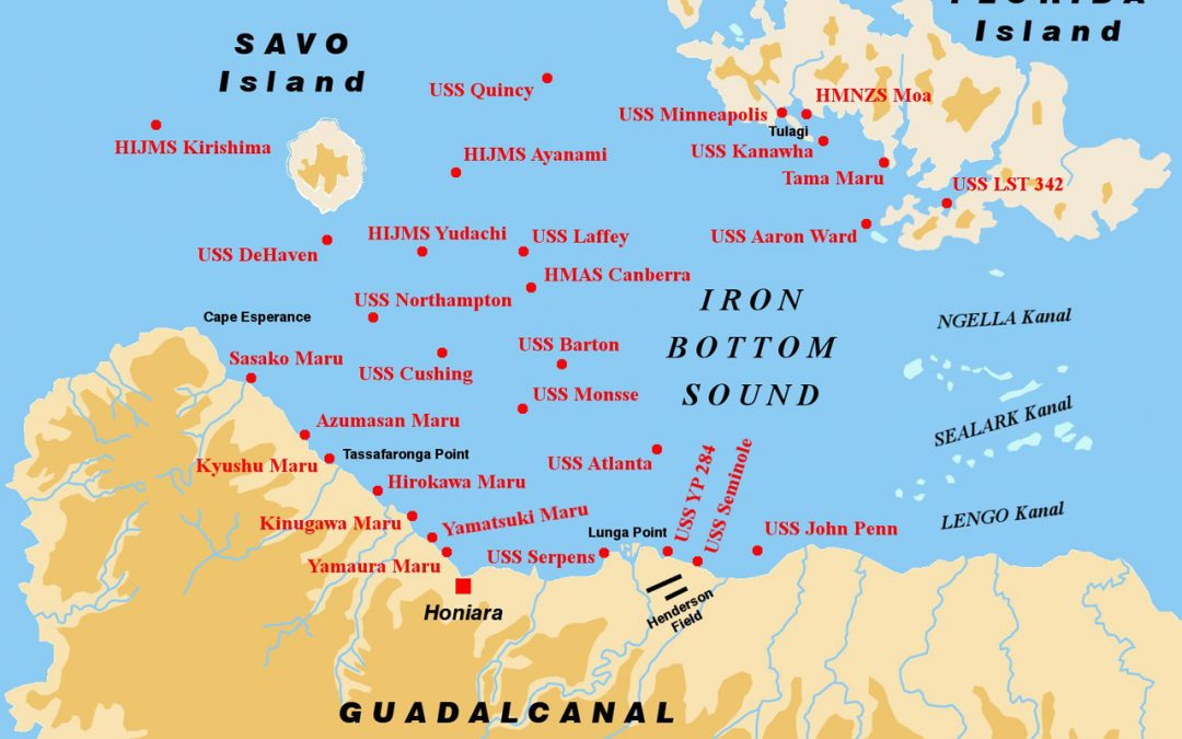 Ironbottom Sound… the graveyard
