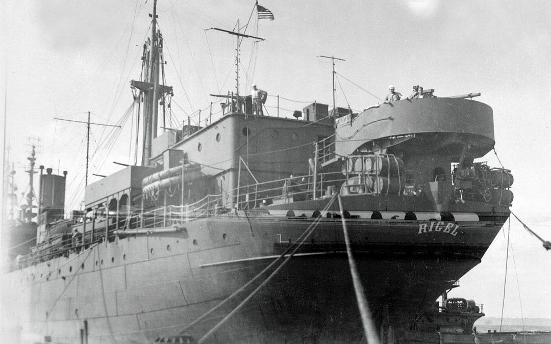 USS Rigel – Guns Mounted!